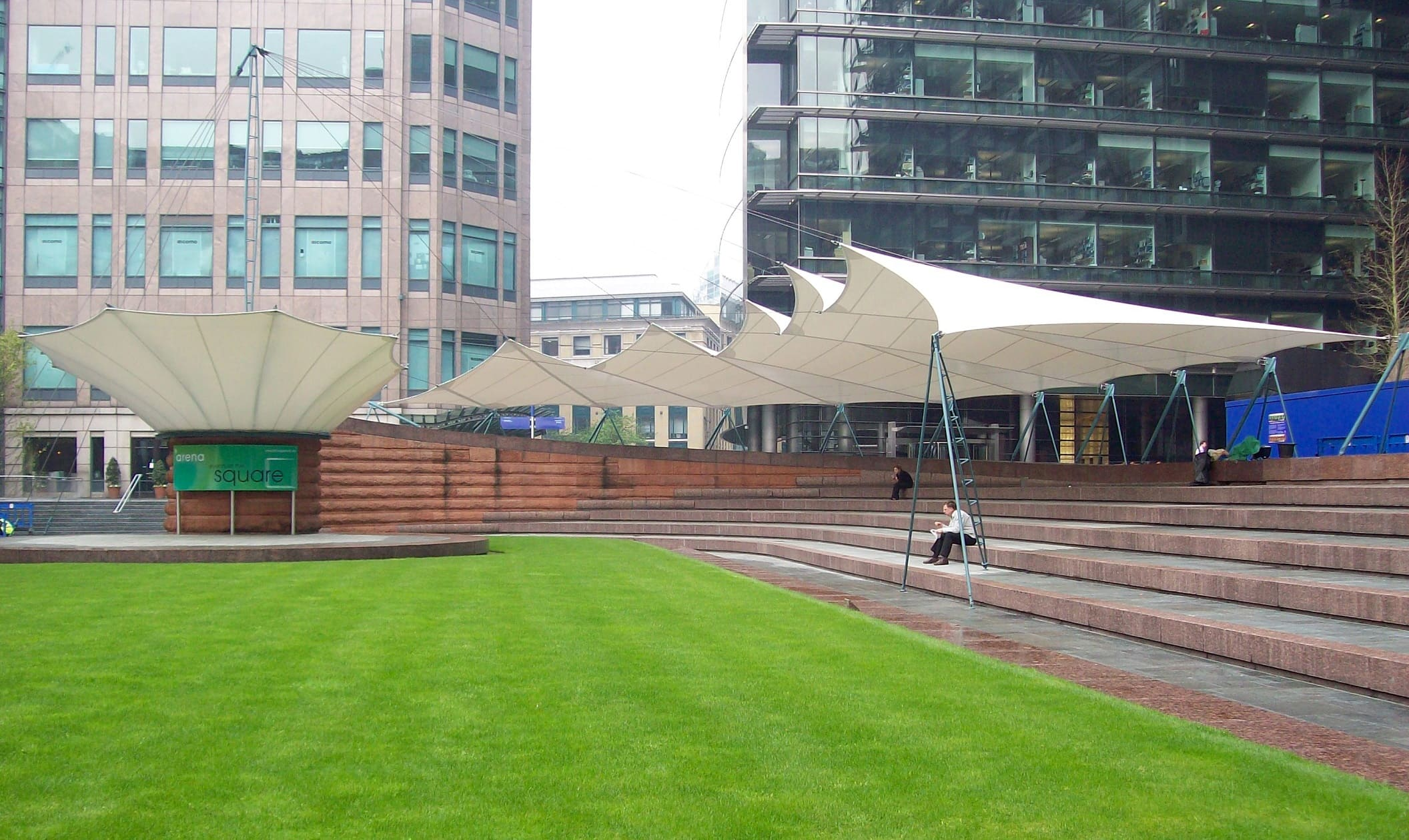 Exchange Square Event Canopies