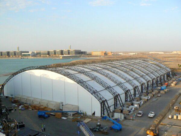 KAUST - Tensile Fabric Pavilion Structure