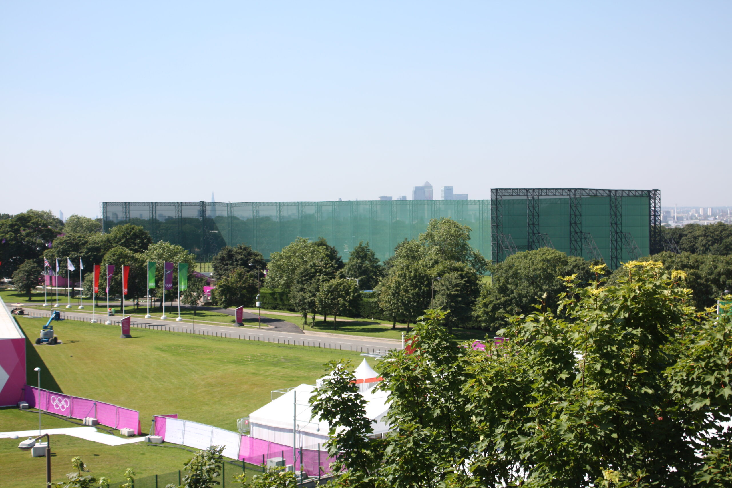 London 2012 Games - Ballistic Screens