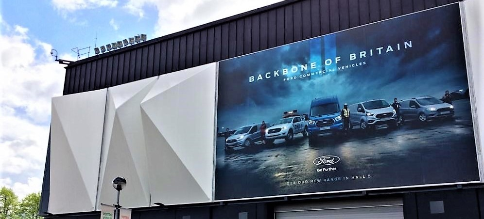 NEC Ford Banners