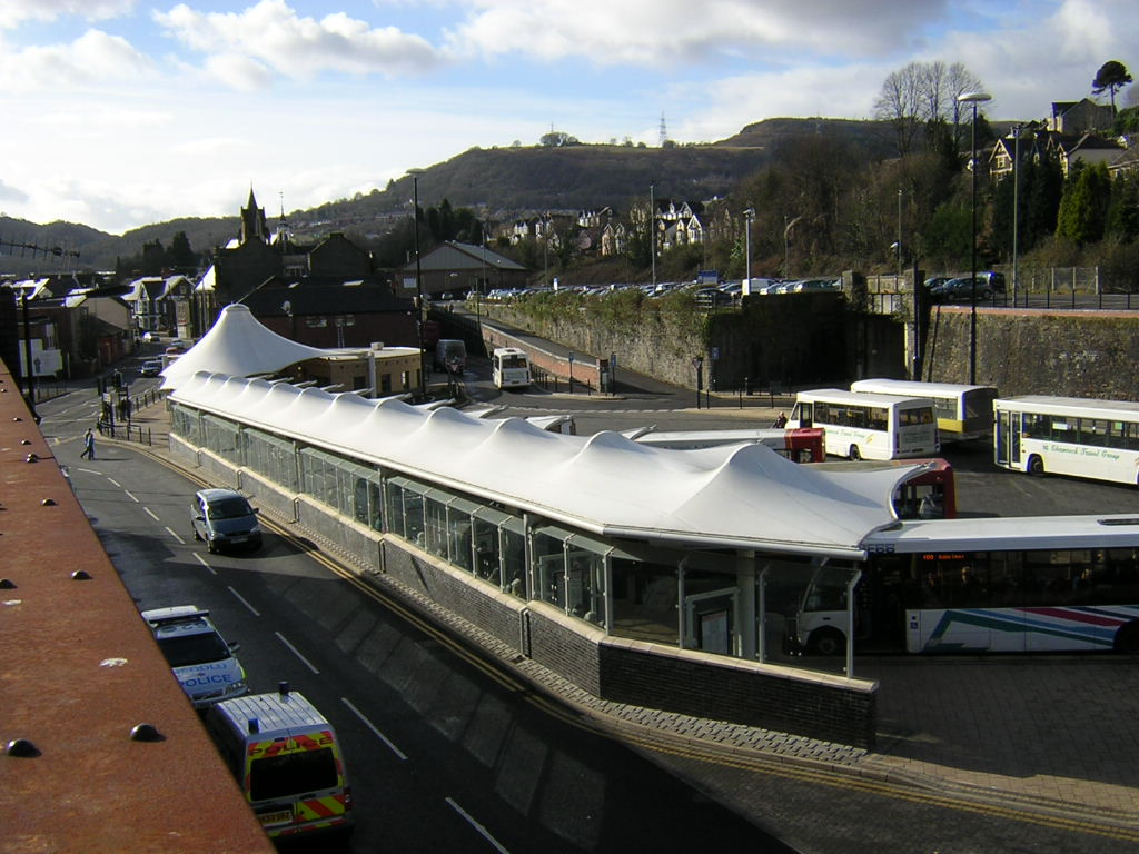 Pontypridd Bus Station