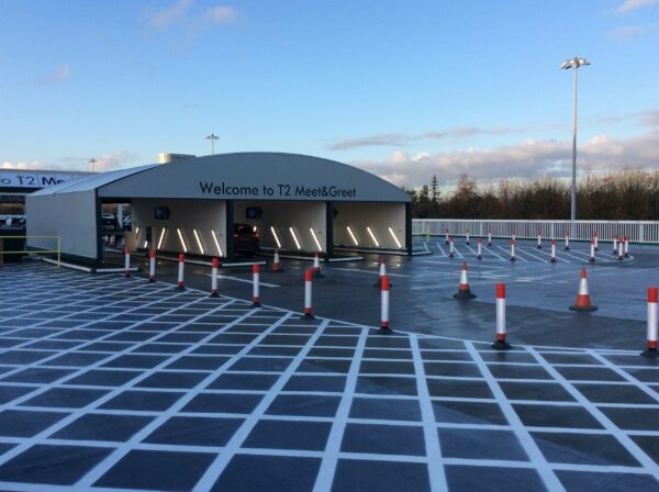 Manchester Airport - Valet Parking Canopy
