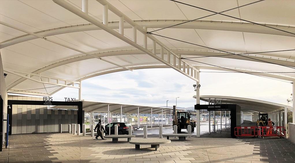 Edinburgh Airport - Walkway & Terminus Canopies